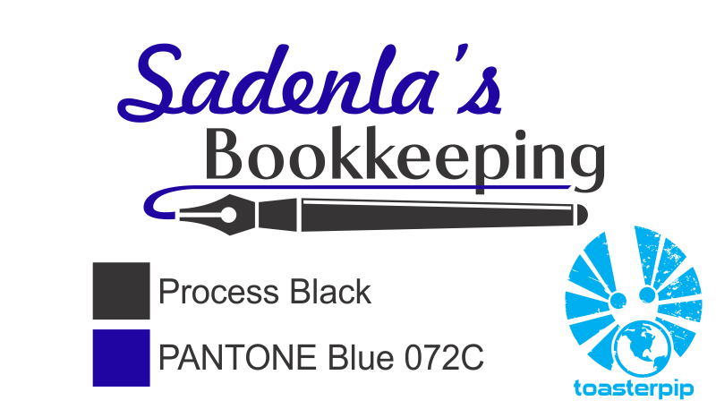 toasterpip sadenla's bookkeeping logo design commission