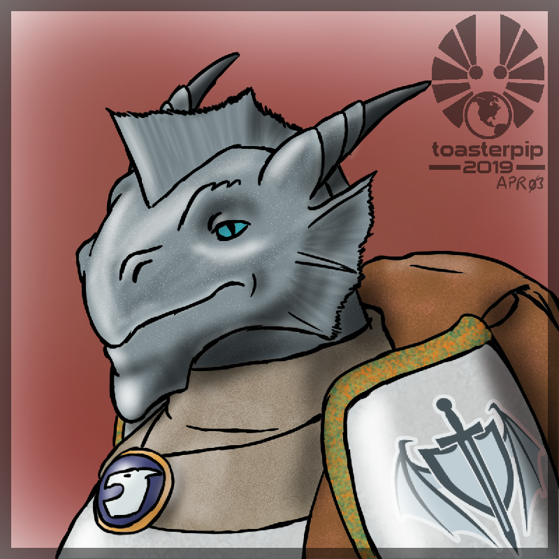 toasterpip dnd dungeons and dragons dragonborn paladin